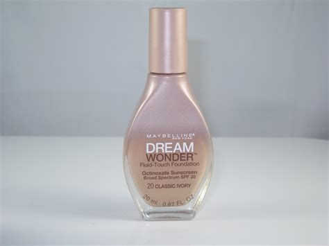 maybelline dream fluid touch foundation
