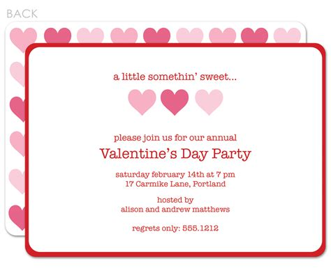 invitation party templates 39 s day party invitations valentines day party