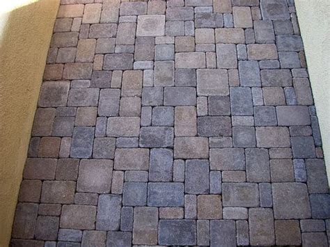 25 best ideas about paver patterns on brick