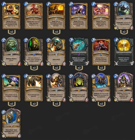 Deck Hearthstone August 2017 by Hearthstone Top 3 Decks Of Season 21 2p