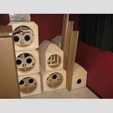 Custom Subwoofer And Mid Bass Enclosures  Home Theater