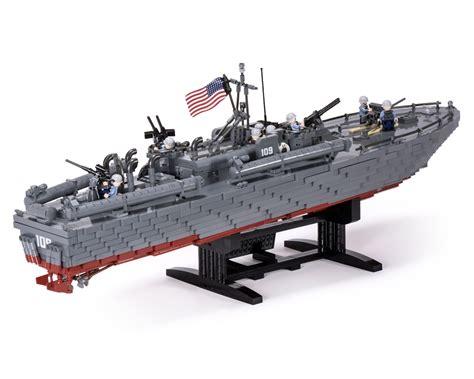 Motor Torpedo Boat Tender by 2152 Pt109 Back 1200 Brickmania