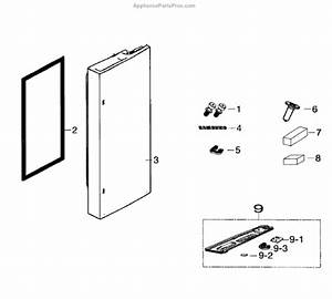 Parts For Samsung Rf260beaesr  Aa-00  Door Right Parts