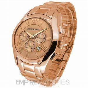 Rose Gold Sprühlack : new mens emporio armani rose gold chronograph watch ar0365 rrp ebay ~ Avissmed.com Haus und Dekorationen