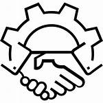 Icon Relationship Partnership Cooperation Partners Deal Table