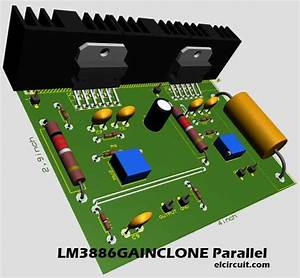 Parallel Gainclone Power Amplifier Lm3886
