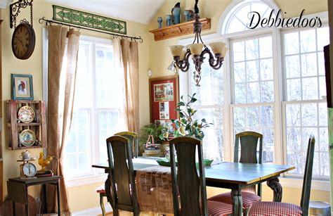 French Country Kitchen Style Freshened Up