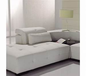 dreamfurniturecom t90 modern white leather sectional sofa With white sectional sofa