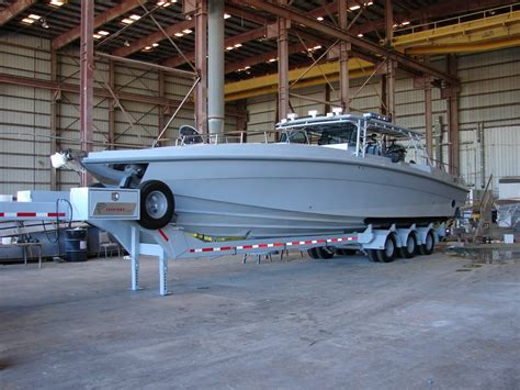 Speed Boat For Sale Kuwait by Myco Trailers 5th Wheel Boat Trailers In