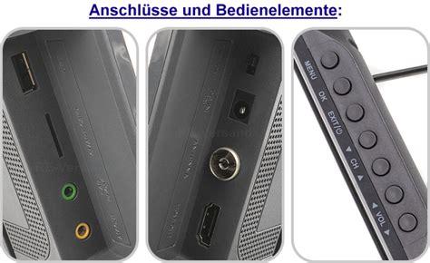 xoro ptl 1050 xoro ptl 1050 dvb t2 tragbarer hd freenet tv fernseher 12v 24v 230v led tv eek a ebay
