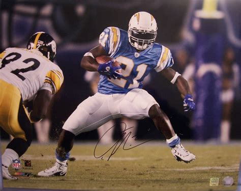 Ladainian Tomlinson Autographed San Diego Chargers 16x20