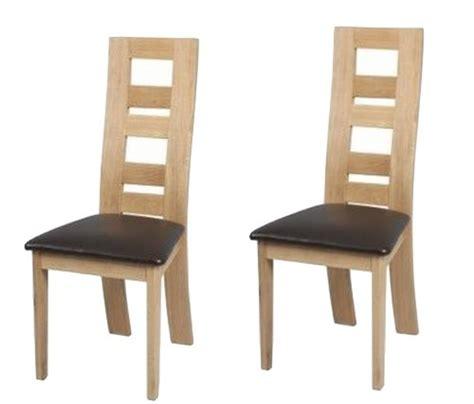 des chaises en bois chaise de salle a manger bois