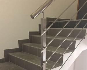 Garde Corps Escalier Interieur : garde corps escalier inox ~ Dailycaller-alerts.com Idées de Décoration