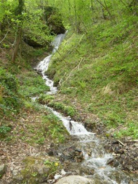 petit ruisseau en montagne lors de promenades photo de residence les chalets d estive