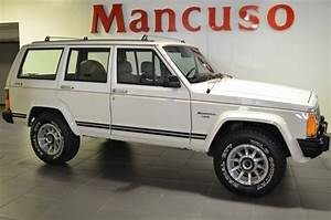 1987 Jeep Cherokee Laredo 84070 Miles White 4 0l Inline 6 Cylinder Manual For Sale  Photos