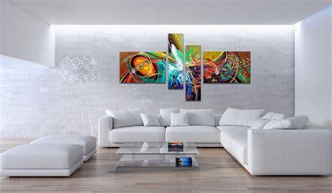 carrelage multicolore cuisine peinture tableau moderne 10