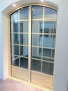 fabrication de fenetre et porte fenetre cintree en With porte et fenetre en aluminium