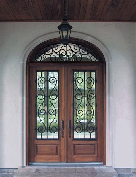 prehung transom double door  solid mahogany st charles