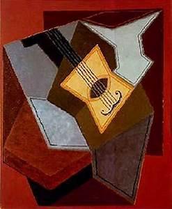 Guitarra. Juan Gris 1926 - Cigar Box Nation