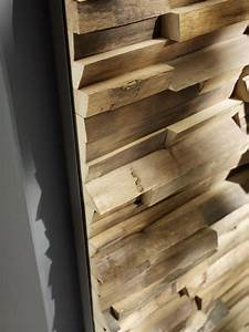 Indoor Solid Wood 3D Wall Cladding WALDKANTE By TEAM 7