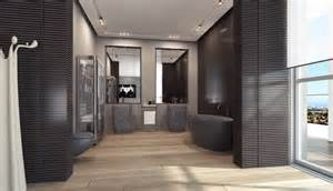 Kitchen And Dining Room Open Floor Plan by 4 Open Plan Black Bathroom Suite Interior Design Ideas