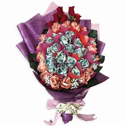 Money Flower Bouquet Malaysia Delivery Hand