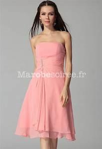 robe de soiree zelda en mousselin esprit classique courte With robe pour ceremonie pas cher