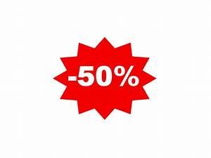 Sticker Soldes 50%