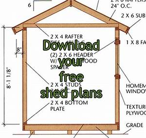 Wooden Shed Plans Free Online PDF Plans