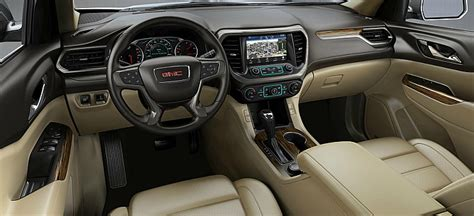 gmc acadia color options
