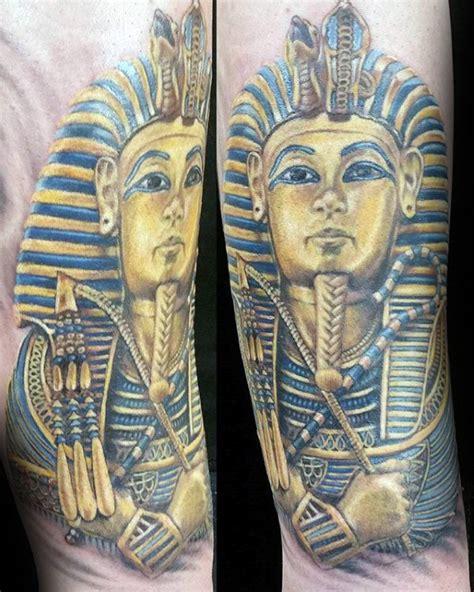 king tut tattoo designs  men egyptian ink ideas