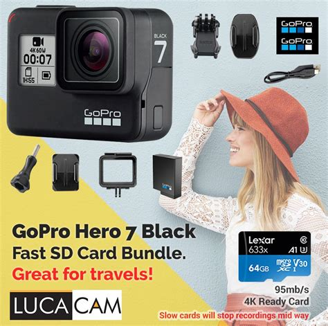 We did not find results for: Gopro Hero 7 Black Fast 64GB SD Card Bundle - Price in Singapore   Outlet.sg