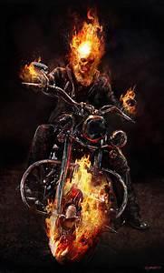 Image - Ghost Rider+Concept Art by Jerad S Marantz 04a.jpg ...