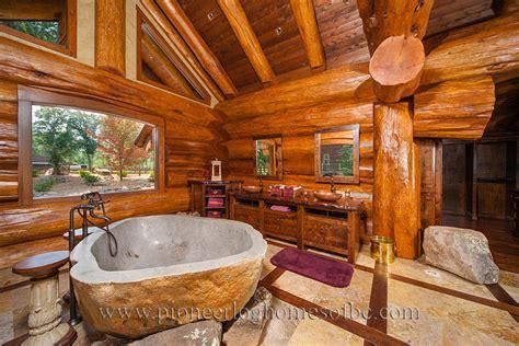 cabins floor log home bathrooms bedrooms design