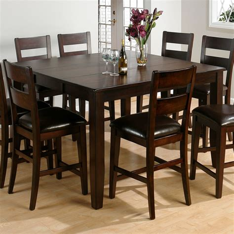 bar height kitchen table jofran rustic prairie counter height dining table dining