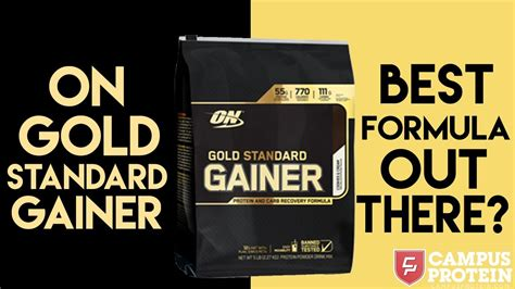 Optimum Gold Standard Gainer Product Review - YouTube