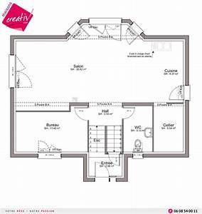 plan architecte maison demi niveaux With plan maison demi niveau 6 maison demi etage interieur