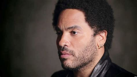 Lenny Kravitz On His Father I Was Afraid Of Him As A