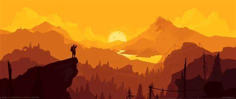 firewatch ultrawide  wallpapers  desktop backgrounds