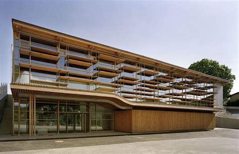 Sunny Gymnasium  Tekhnê Architectes Archdaily