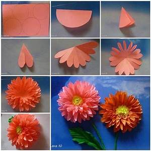 DIY : Origami Flowers Step by Step Tutorials - K4 Craft