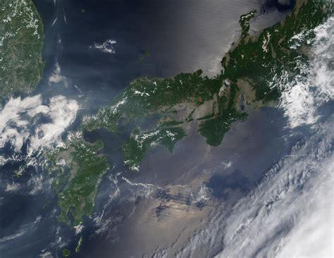 Fires And Smoke Across Japan Natural Hazards