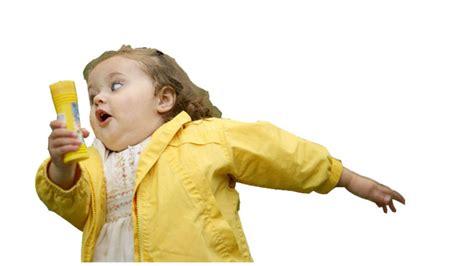 Chubby Girl Running Meme - chubby bubbles girl know your meme