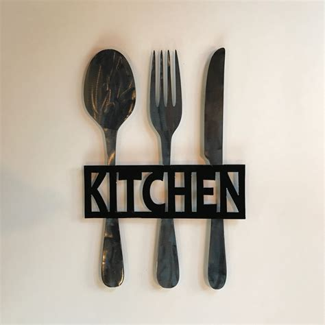 fork spoon wall home ideas