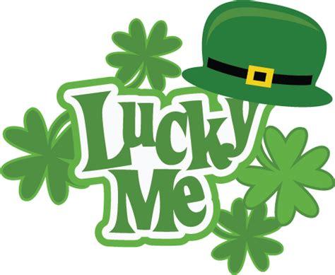Lucky Me Svg Scrapbook Collection St. Patricks Day Svg