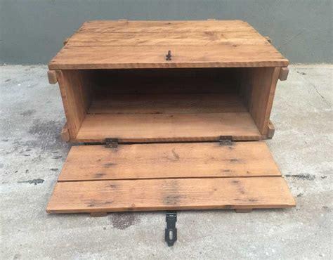 table basse caisse en bois negrita