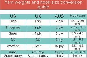 Ultimate Yarn Weight Cheat Sheet Knitting Favorites