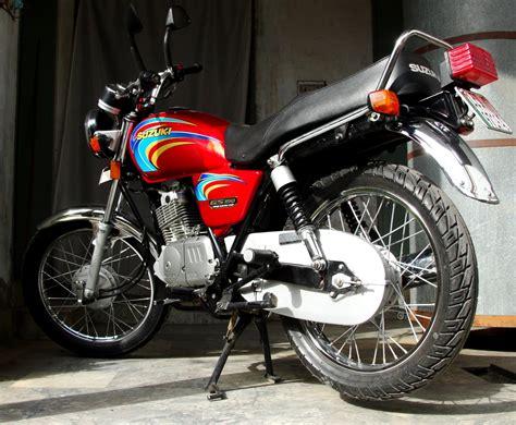 Filesuzuki Gs  Motorcycle In La Pakistan Jpg