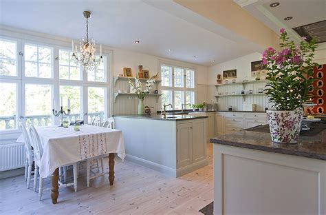 Kitchen Dining Ideas by Beautifully Restored Turn Of The Century House In Sweden