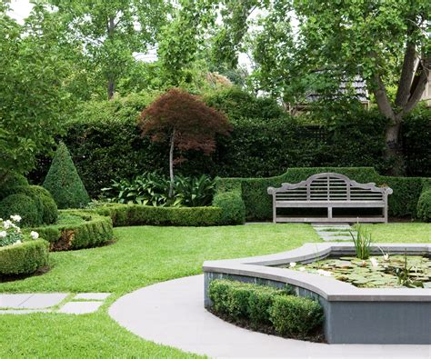Formal Garden : Formal Garden Design Design Ideas Modern Beautiful And
